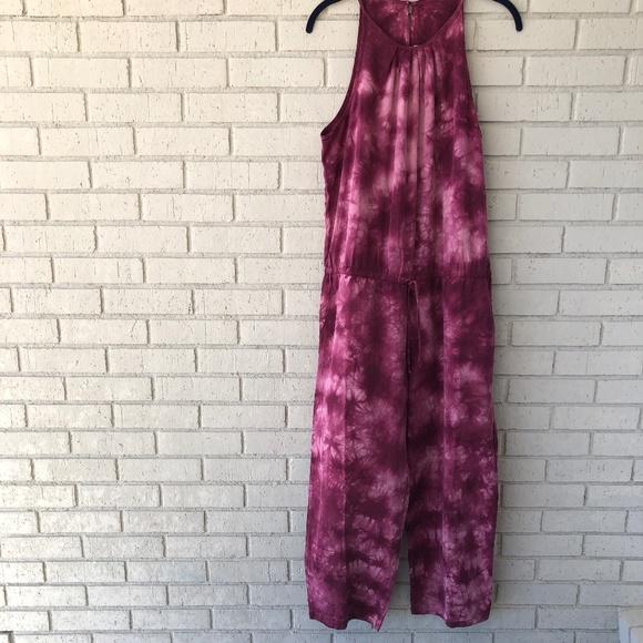 Anthropologie Dresses & Skirts - Magenta Tie Dye Anthropologie Jumpsuit - Large
